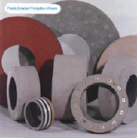 Plastic Bonded Production Grinding Wheels From Research Abrasive